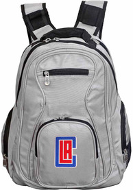 Los Angeles Clippers 19 Laptop Backpack - Grey
