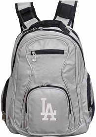 Los Angeles Dodgers 19 Laptop Backpack - Grey