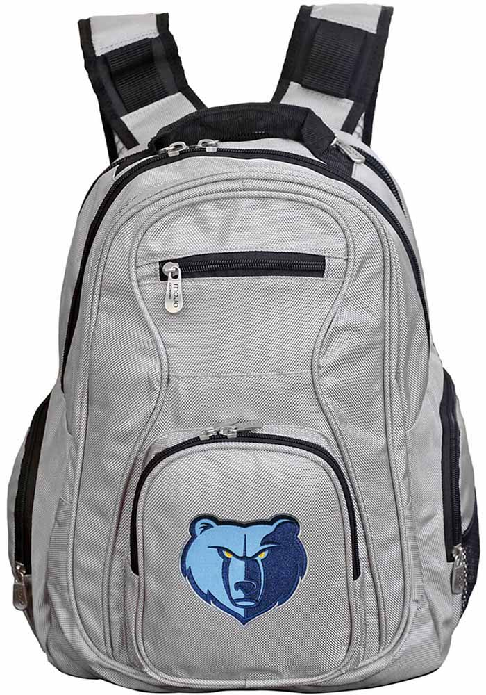 Memphis Grizzlies Grey 19g Laptop Backpack - Image 1