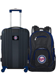 Minnesota Twins 2-Piece Set Luggage - Black
