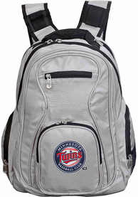Minnesota Twins 19 Laptop Backpack - Grey