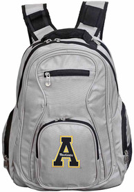 Appalachian State Mountaineers 19 Laptop Backpack - Grey