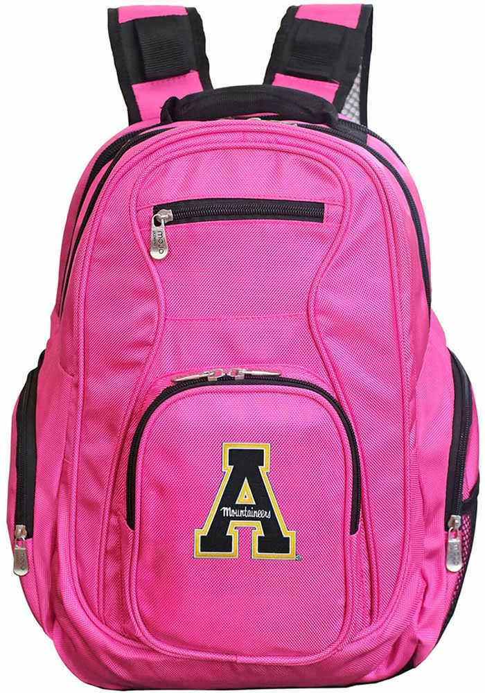 Appalachian State Mountaineers 19 Laptop Backpack - Pink