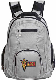 Arizona State Sun Devils 19 Laptop Backpack - Grey