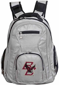 Boston College Eagles 19 Laptop Backpack - Grey