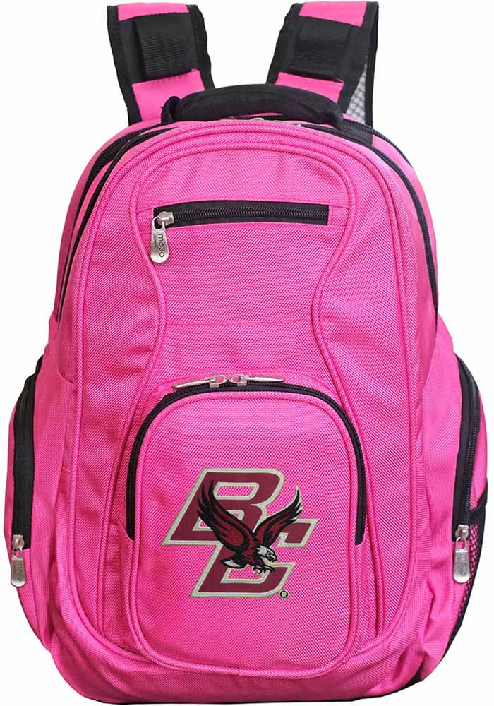 Boston College Eagles 19 Laptop Backpack - Pink