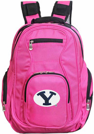 BYU Cougars 19 Laptop Backpack - Pink