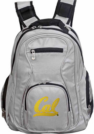 Cal Golden Bears 19 Laptop Backpack - Grey