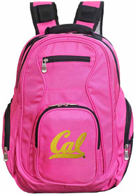 Cal Golden Bears 19 Laptop Backpack - Pink