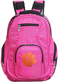 Clemson Tigers 19 Laptop Backpack - Pink
