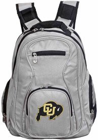 Colorado Buffaloes 19 Laptop Backpack - Grey
