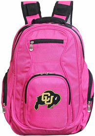 Colorado Buffaloes 19 Laptop Backpack - Pink