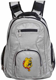 Ferris State Bulldogs 19 Laptop Backpack - Grey