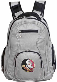 Florida State Seminoles 19 Laptop Backpack - Grey