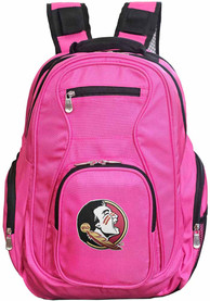 Florida State Seminoles 19 Laptop Backpack - Pink