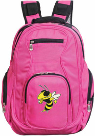 GA Tech Yellow Jackets 19 Laptop Backpack - Pink