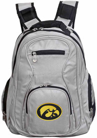 Iowa Hawkeyes 19 Laptop Backpack - Grey
