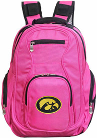 Iowa Hawkeyes 19 Laptop Backpack - Pink