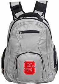NC State Wolfpack 19 Laptop Backpack - Grey