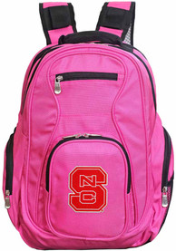 NC State Wolfpack 19 Laptop Backpack - Pink