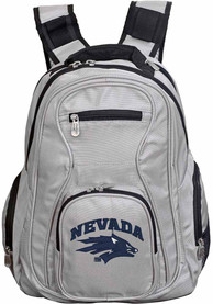 Nevada Wolf Pack 19 Laptop Backpack - Grey