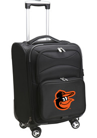 Baltimore Orioles 20 Softsided Spinner Luggage - Black