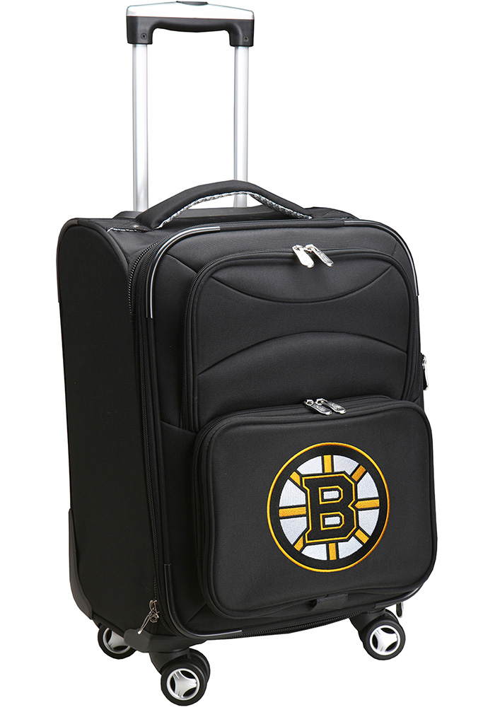 Boston Bruins Black 20 Softsided Spinner Luggage - Image 1