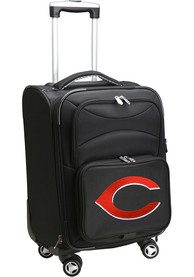 Cincinnati Reds 20 Softsided Spinner Luggage - Black