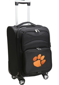 Clemson Tigers 20 Softsided Spinner Luggage - Black