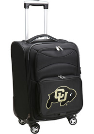 Colorado Buffaloes 20 Softsided Spinner Luggage - Black