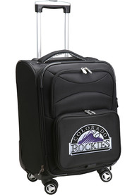 Colorado Rockies 20 Softsided Spinner Luggage - Black