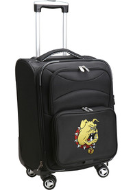 Ferris State Bulldogs 20 Softsided Spinner Luggage - Black
