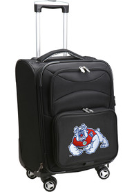 Fresno State Bulldogs 20 Softsided Spinner Luggage - Black