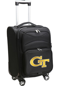GA Tech Yellow Jackets 20 Softsided Spinner Luggage - Black