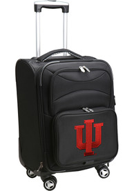 Indiana Hoosiers 20 Softsided Spinner Luggage - Black