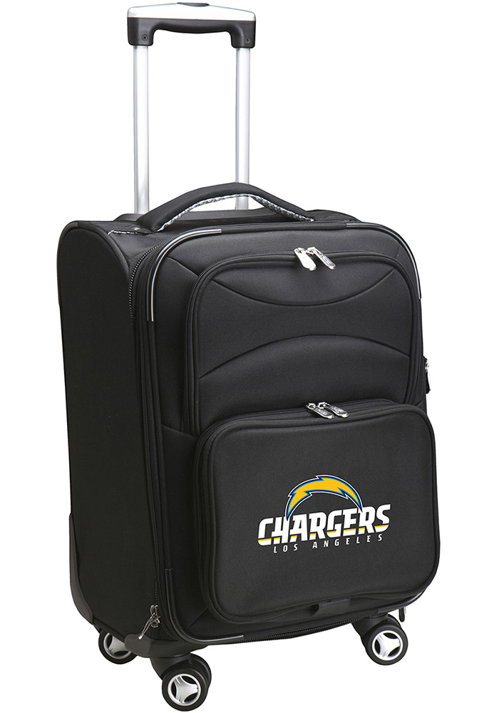 Los Angeles Chargers Black 20 Softsided Spinner Luggage - Image 1