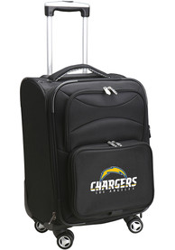 Los Angeles Chargers 20 Softsided Spinner Luggage - Black