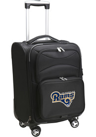 Los Angeles Rams 20 Softsided Spinner Luggage - Black