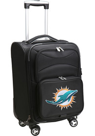 Miami Dolphins 20 Softsided Spinner Luggage - Black