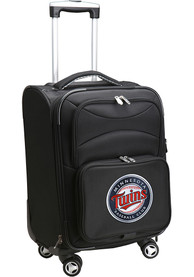 Minnesota Twins 20 Softsided Spinner Luggage - Black