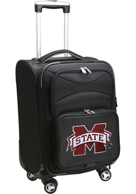 Mississippi State Bulldogs 20 Softsided Spinner Luggage - Black