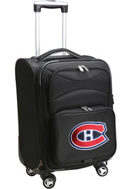 Montreal Canadiens 20 Softsided Spinner Luggage - Black