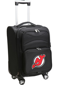 New Jersey Devils 20 Softsided Spinner Luggage - Black