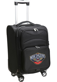 New Orleans Pelicans 20 Softsided Spinner Luggage - Black