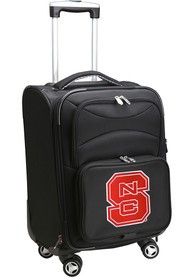NC State Wolfpack 20 Softsided Spinner Luggage - Black