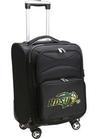 North Dakota State Bison 20 Softsided Spinner Luggage - Black