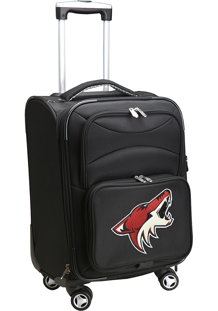 Arizona Coyotes Black 20g Softsided Spinner Luggage - Image 1