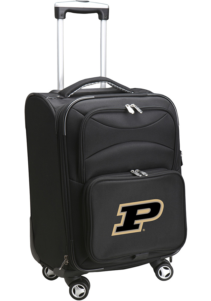 Purdue Boilermakers Black 20 Softsided Spinner Luggage - Image 1