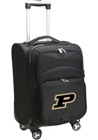 Purdue Boilermakers 20 Softsided Spinner Luggage - Black