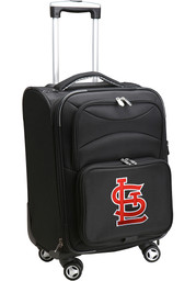 St Louis Cardinals 20 Softsided Spinner Luggage - Black